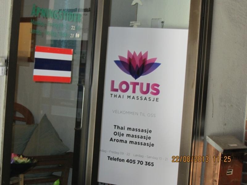 thai massasje sandnes